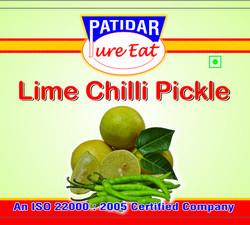 Buy Lime & Green Chilli Pickle