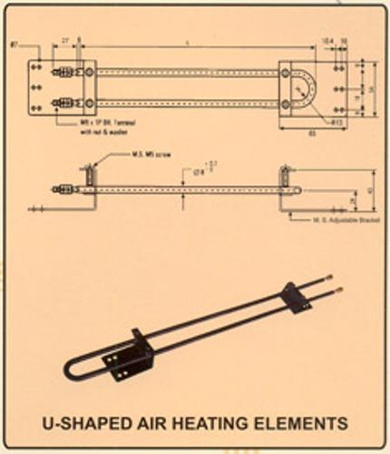 Buy U - Shaped Air Heating Element