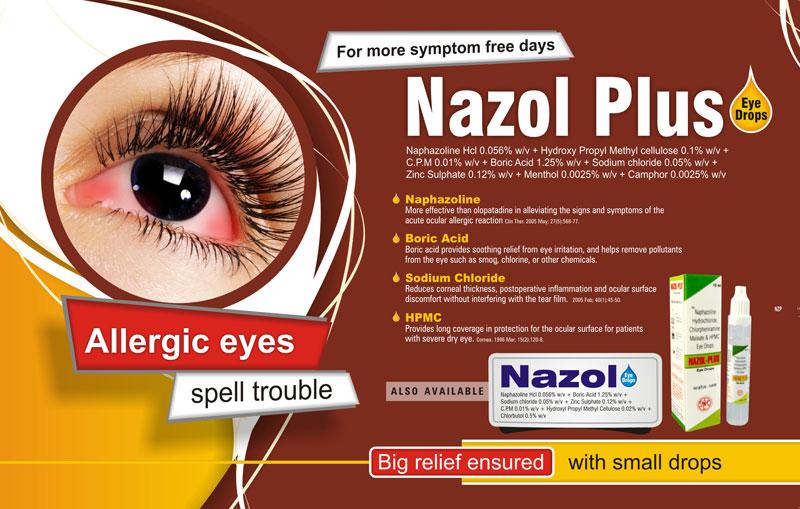 Buy Nazol Plus Eye Drop