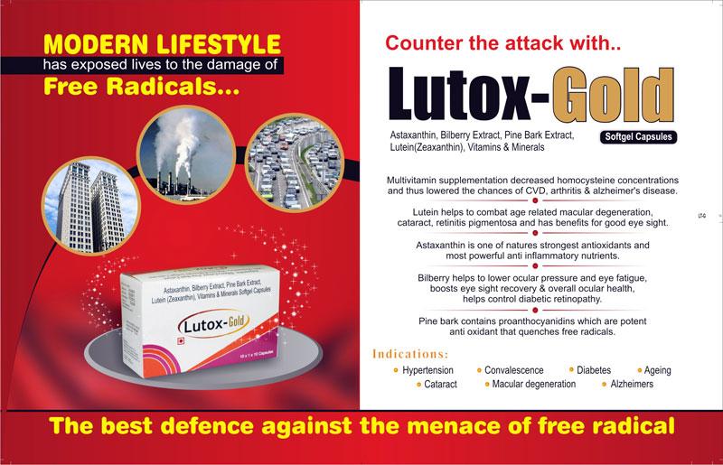 Buy Lutox Gold Capsules