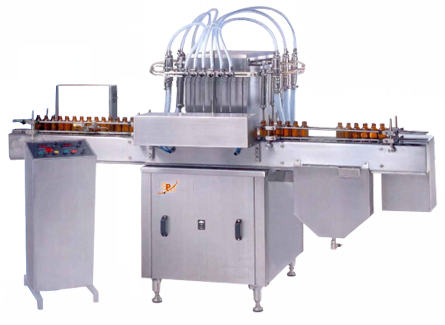 Buy Automatic Volumetric Liquid Filling Machine