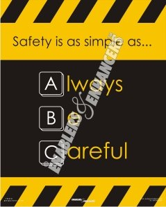 Safety Posters at Enablers & Enhancers