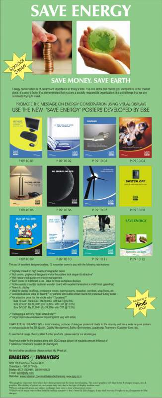 Buy Posters on Save Energy