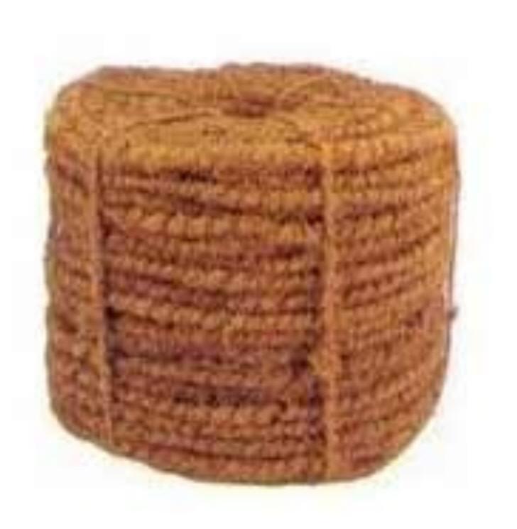 Кокосовая койра - грубая пряжа для ковриков