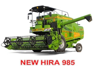 Buy Self Propelled Combine Harvester NEW HIRA 985