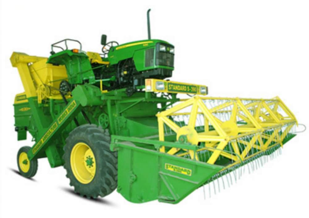 Buy Tractor Mounted Harvester Combine