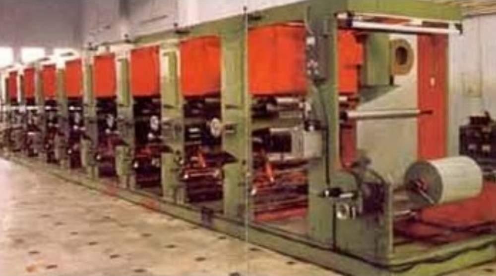 Buy Rotogravure Printing Machines