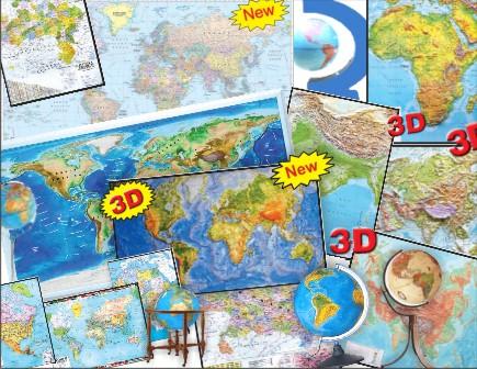 Buy Maps & Globes
