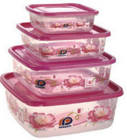 Buy Pink Printed Delight Container