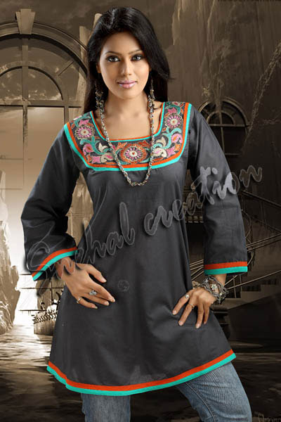400 x 600 · 48 kB · jpeg, Designer Cotton Kurta for Girls, Mumbai