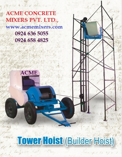 Buy Tower hoist