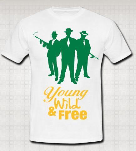 Buy Mens Round Neck Printed T-Shirts