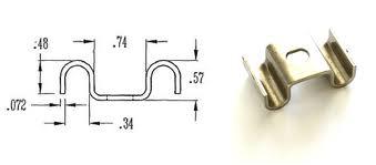 Buy Galvanised grating clip