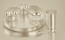 Buy Silver Plated Exclusive Dinner Set