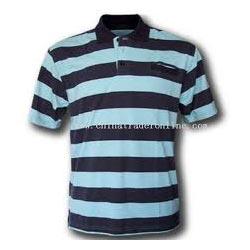Buy Mens Striped Polo T Shirts