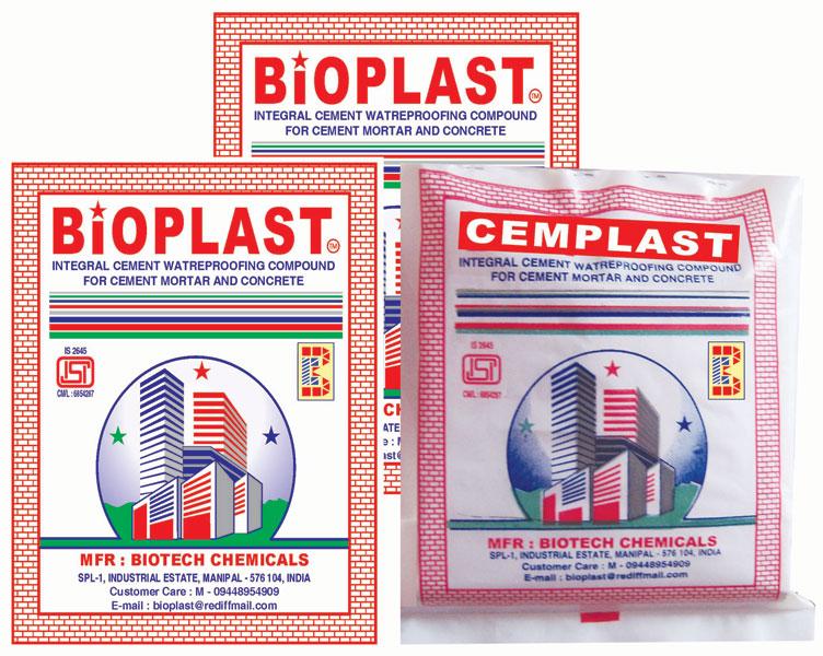 Buy Cement Waterproof Admixture (BIOPLAST)