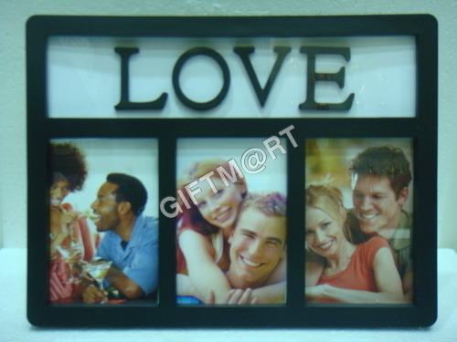 Home Collage 3 In 1 Photo Frame With Clock Gergstorecom