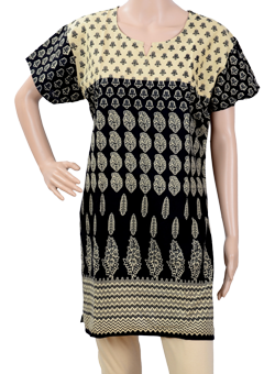 Buy Block prints kurti