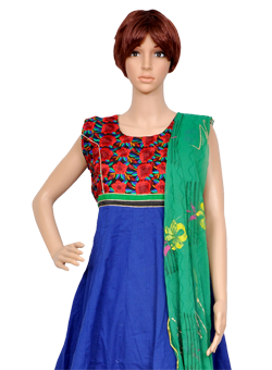 Buy Salwaar suit with rich embroidery work