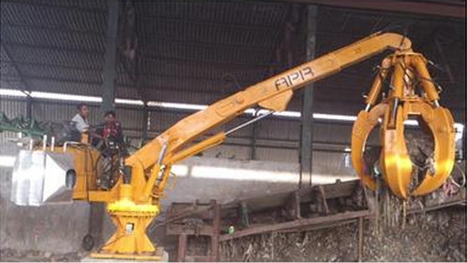 Buy Electric Stationary Boom Loader