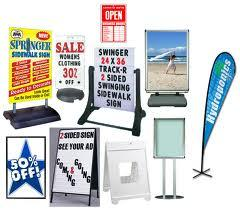 Outdoor Publicity Signs