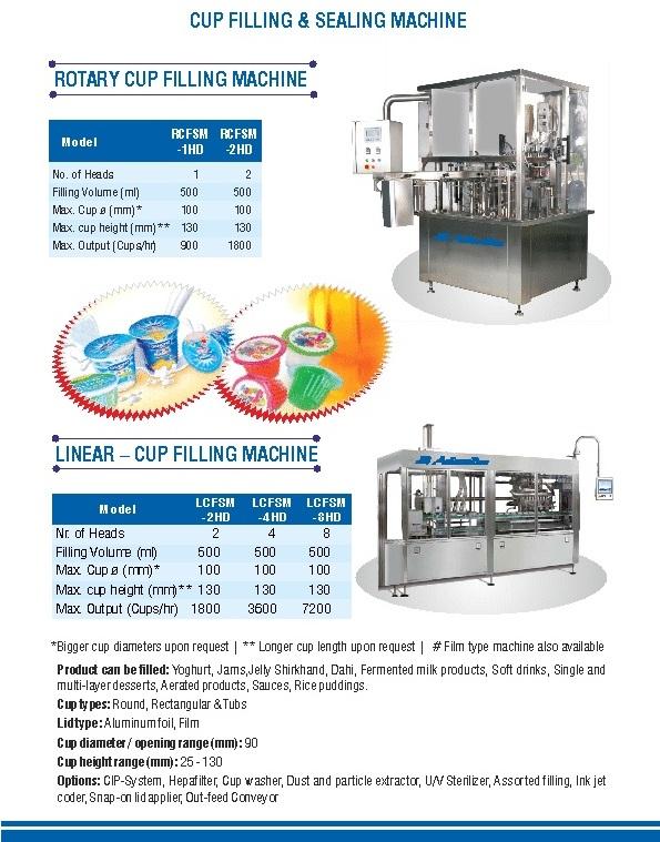 Buy Cup Filling & Sealing Machine