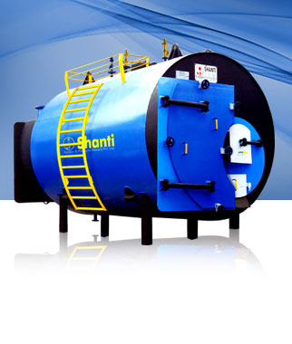 Buy Heating Boiler Manufacturers, Suppliers and Exporters, Shanti Boilers & Pressure Vessels Pvt. Ltd.