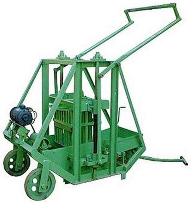 Buy Manually Operated Concrete Block Making Machine