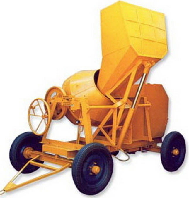 Buy Concrete Mixer with Hydraulic Hopper