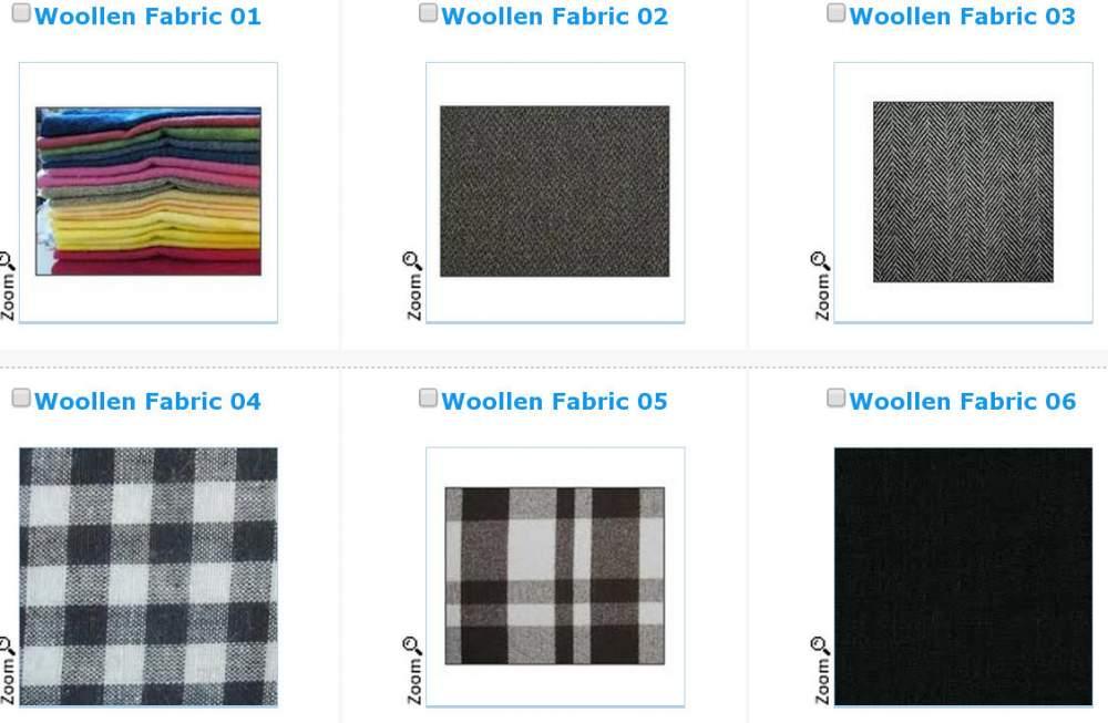 Buy Woollen Fabrics