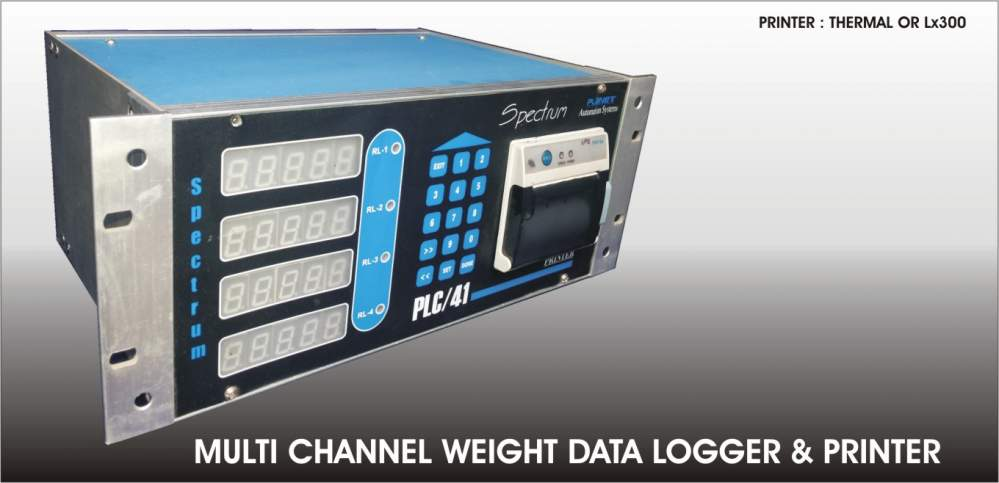 Buy Multi channel Weight data logger & Printer