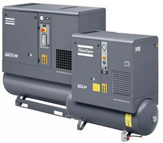 Buy Atlas Copco GX 2-11 (3-15 HP) Rotary Screw Lubricated Compressors