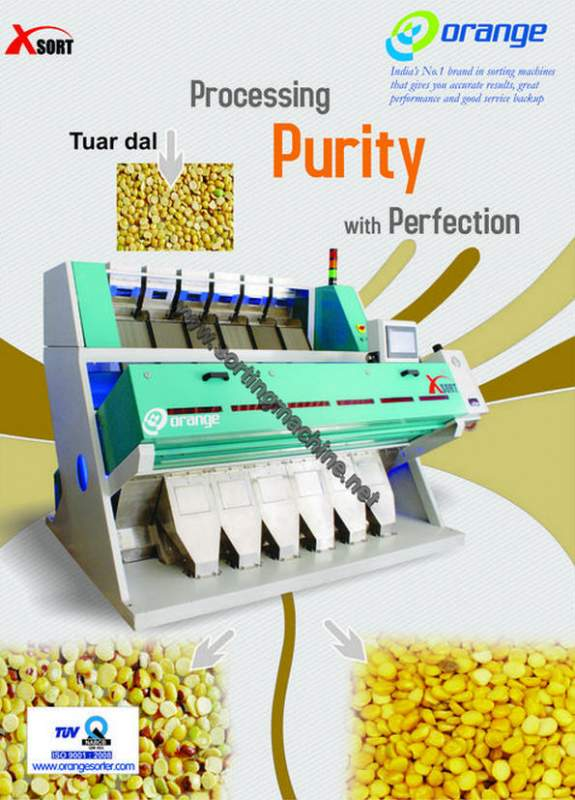 Buy Toor Dal Color Sorter Machine