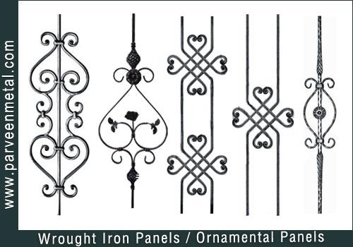 Buy Wrought Iron Panels