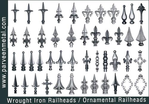 Buy Wrought Iron Railheads
