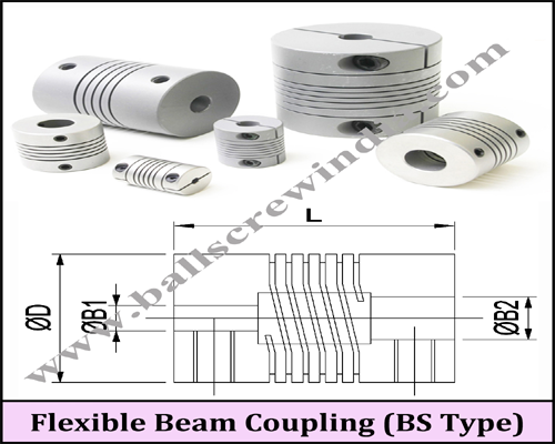 Buy Flexible Beam Coupling (BS Type)