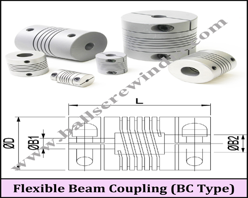 Buy Flexible Beam Coupling (BC Type)
