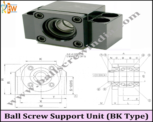 Buy Ball Screw Support Unit ( Bk Type)