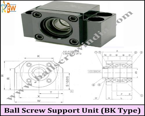 Buy Ball Screw Support Unit ( Bk Type)