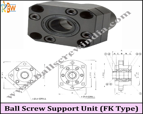 Buy Ball Screw Support Unit (FK Type)