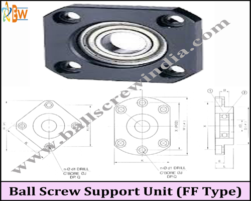 Buy Ball Screw Support Unit (FF Type)