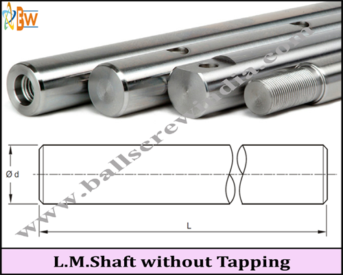 Buy Linear Motion Shaft Without Tapping