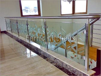 Buy Stainless Steel Railing With Glass
