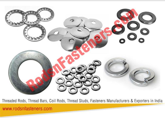 Buy Steel Plain Flat Washers