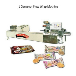 Buy L Conveyor Flow Wrap Machine