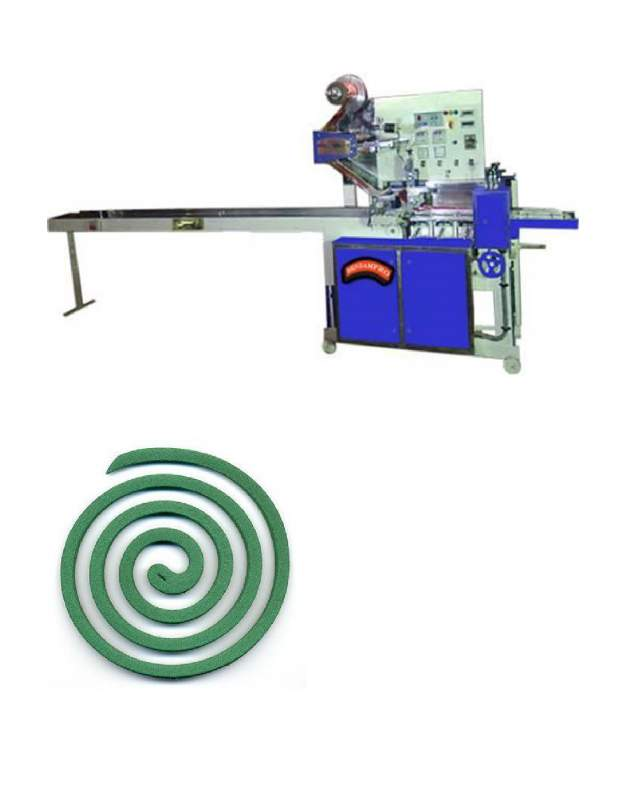 Buy Horizontal Flow Mosquito Coil Packaging Machine