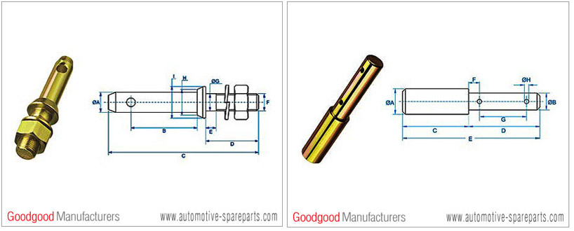 Buy Tractor Linkage Part-Lower Link Locking Pin