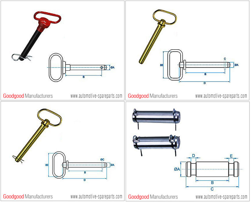 Buy Tractor Linkage Part-Hitch Pins