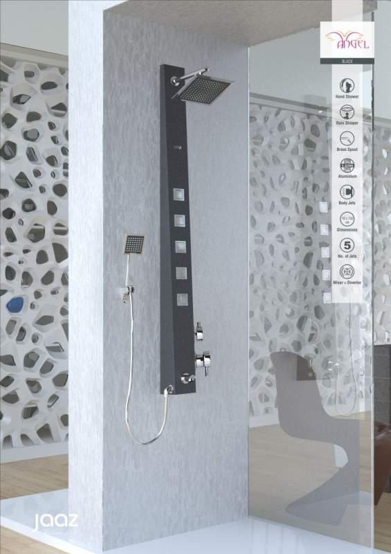 Buy Shower Panel Jaaz Angel Black