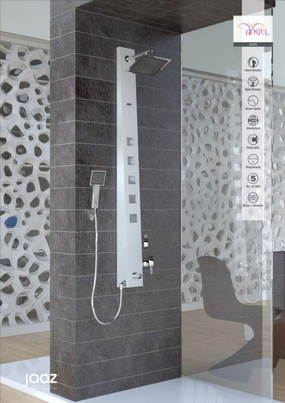 Buy Shower Panel Jaaz Angel White